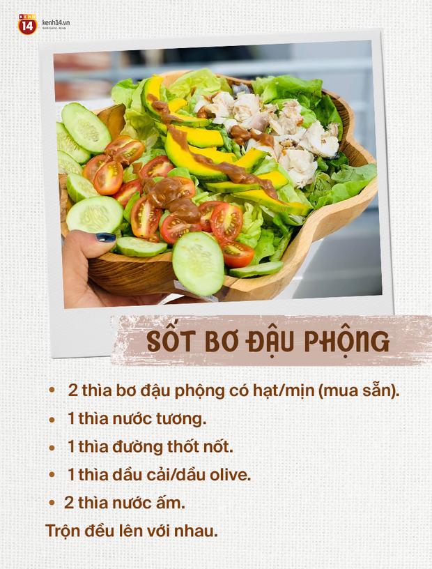 Cô gái Sài thành chia sẻ 7 công thức làm sốt salad vừa không béo, vừa giúp món rau không còn nhạt nhẽo - Ảnh 6.