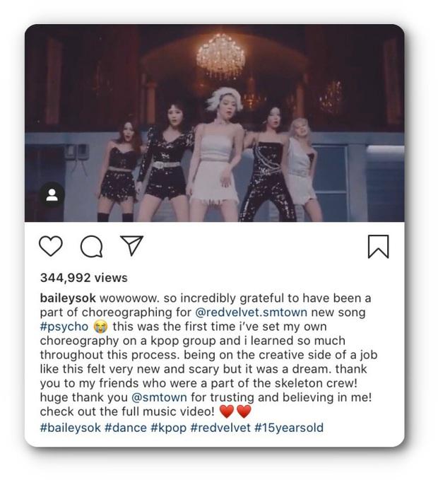Hoá ra điệu nhảy gây nghiện của Red Velvet trong Psycho được sáng tạo bởi biên đạo múa chỉ mới 15 tuổi, đúng là tài không đợi tuổi! - Ảnh 6.