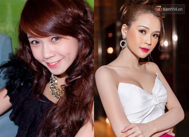 """Sao Việt đổi style makeup chóng mặt sau 10 năm: Ngọc Trinh, Lan Ngọc bớt """"sến""""; đẹp ngỡ ngàng là Chi Pu, Minh Hằng - Ảnh 9."""