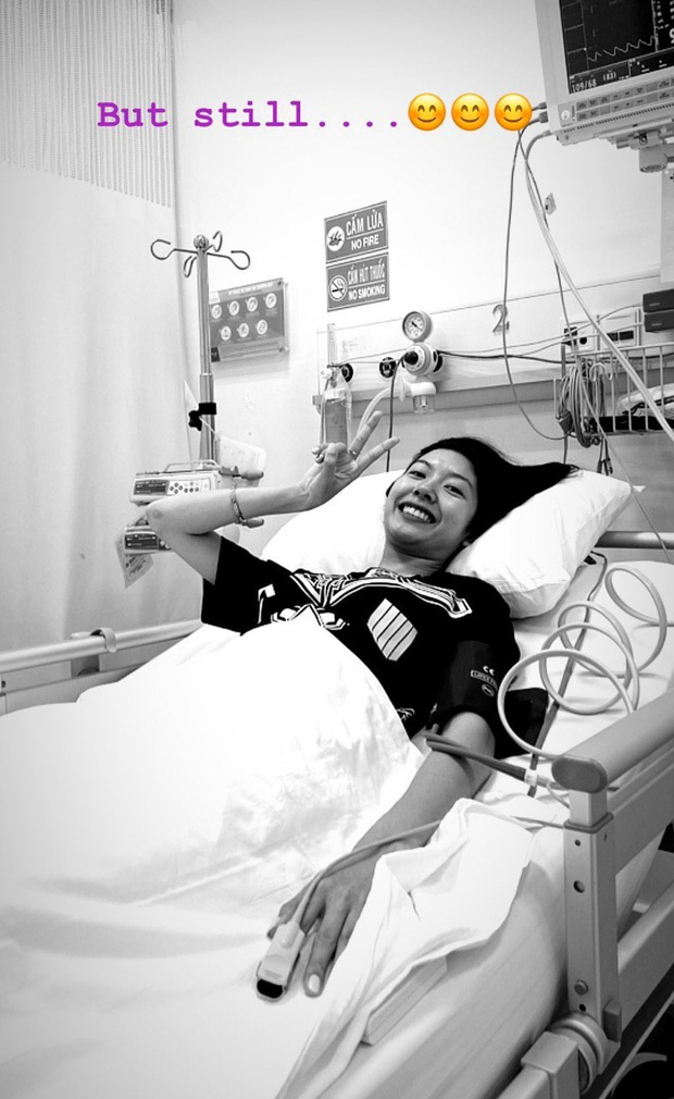 Á hậu Thúy Vân nhập viện sau chưa đầy 1 tháng khép lại hành trình Hoa hậu Hoàn vũ Việt Nam 2019 - Ảnh 1.