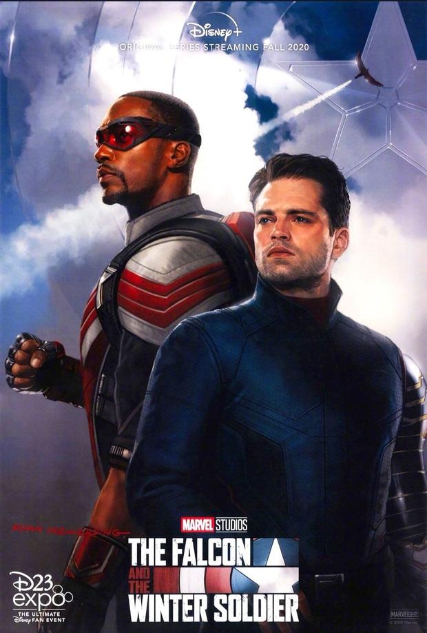 Phim truyền hình Mỹ 2020: Captain America tấn công màn ảnh nhỏ, huyền thoại Lizzie McGuire trở lại - Ảnh 2.