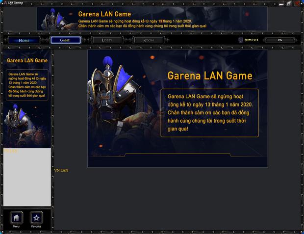 Garena chính thức khai tử LAN Game, game thủ Việt khóc thương cho một huyền thoại - Ảnh 1.