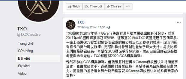 Liên Quân Mobile TW sóng gió, TXO tuyên bố bỏ giải khiến GCS 2020 chỉ còn 6 đội  - Ảnh 3.