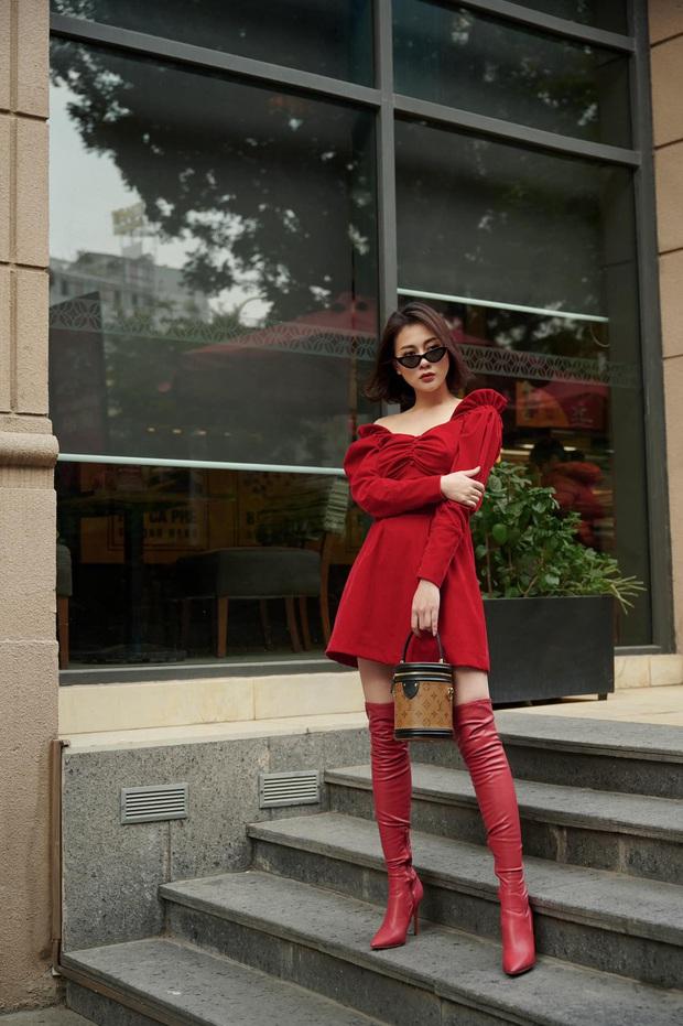 Street style sao Việt: Quỳnh Nga kín như bưng, đối lập với Tóc Tiên sexy ná thở - Ảnh 10.