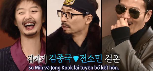 Yoo Jae Suk: Jeon So Min mà kết hôn với Kim Jong Kook thì tôi sẽ rời khỏi Running Man... - Ảnh 5.