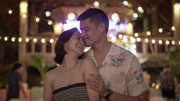 Mỹ nhân đẹp nhất Philippines và chồng tài tử khoe ảnh ngọt lịm kỷ niệm 5 năm cưới, kéo đến hình hậu trường mà ngã ngửa - Ảnh 1.