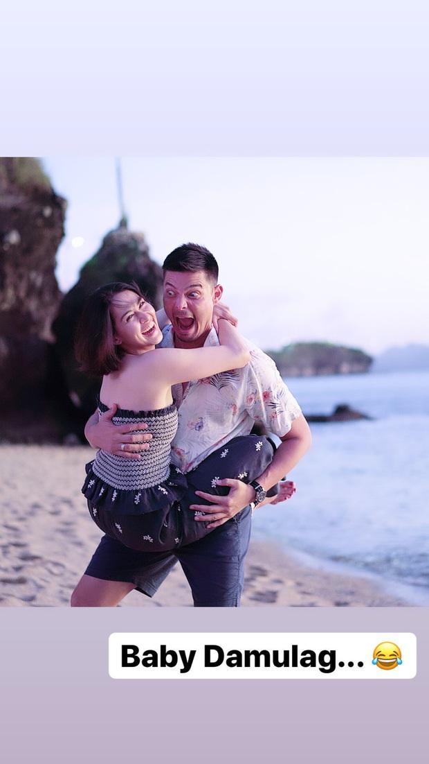 Mỹ nhân đẹp nhất Philippines và chồng tài tử khoe ảnh ngọt lịm kỷ niệm 5 năm cưới, kéo đến hình hậu trường mà ngã ngửa - Ảnh 4.