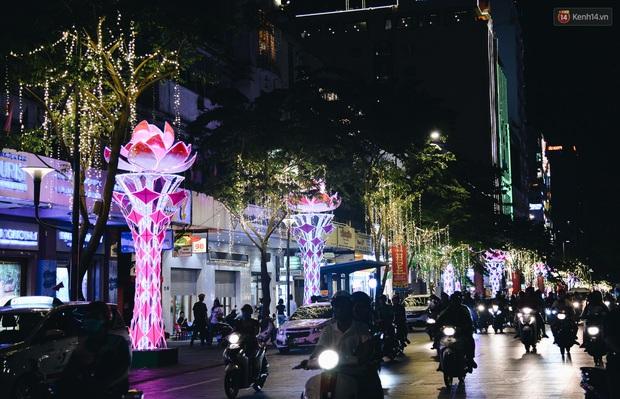 Đường phố Sài Gòn trang trí rực rỡ đầy sắc màu để đón chào thập kỷ mới năm 2020 - Ảnh 9.
