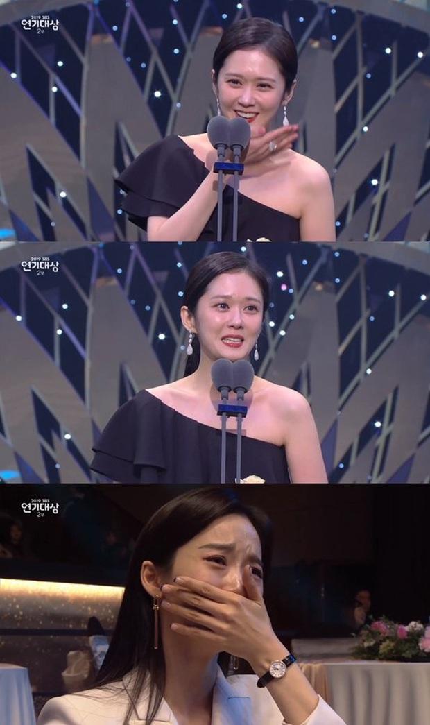Jang Nara vừa khóc vừa cười ẵm giải bự, phim bạc tỉ Vagabond bất ngờ thua đậm tại SBS Drama Awards 2019 - Ảnh 9.