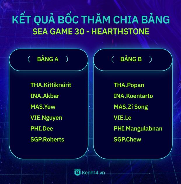 Kết quả bốc thăm chia bảng và lịch thi đấu chi tiết các môn Esports tại SEA Games 30 - Ảnh 9.