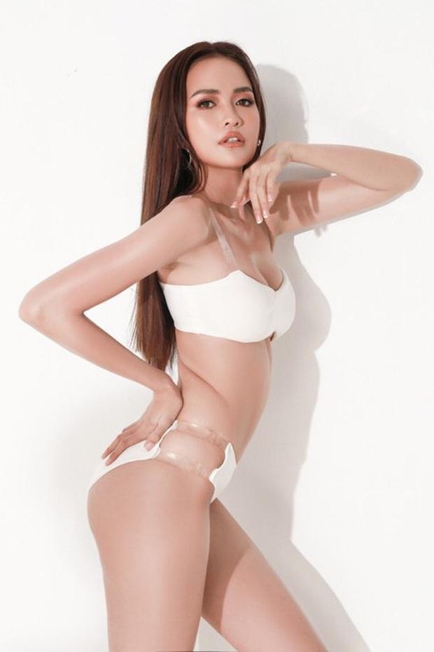Ngọc Châu trình diễn bikini tại Miss Supranational, lộ khuyết điểm khác hình ảnh mướt mắt đã qua chỉnh sửa - Ảnh 4.
