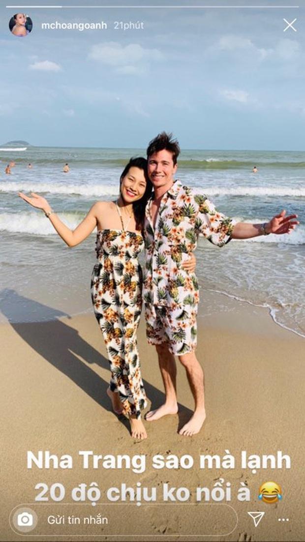 Hoàng Oanh tung clip sau 3 ngày kết hôn: Đây chính là cuộc sống tân hôn bên chồng Tây cực phẩm - Ảnh 2.