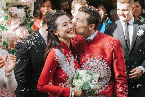 MC Hoàng Oanh lần đầu chia sẻ cảm xúc sau đám cưới ngôn tình, hạnh phúc khi được bố mẹ chồng tiết lộ về tình yêu của ông xã ngoại quốc - Ảnh 1.