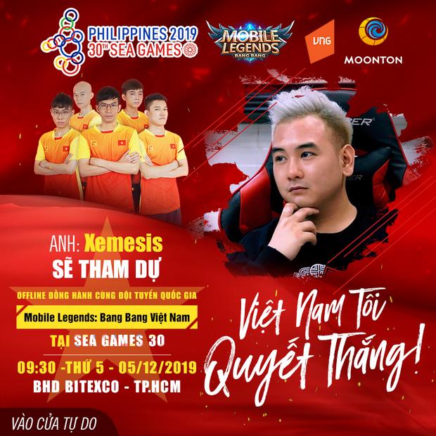 Uyên Pu, Xemesis cùng tiếp lửa cho ĐTQG Mobile Legends: Bang Bang Việt chinh phục huy chương vàng SEA Games 30 - Ảnh 7.