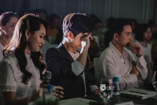 Trần Nghĩa mong khán giả bỏ qua chuyện cũ ủng hộ Mắt Biếc, Trúc Anh phân trần trước ý kiến nghi ngờ diễn xuất - Ảnh 4.