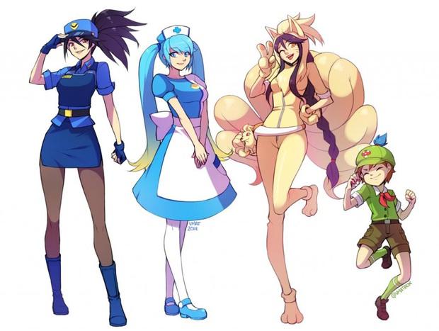 Sẽ thế nào khi các vị tướng Liên Minh Huyền Thoại hóa thân thành huấn luyện viên Pokemon? - Ảnh 2.