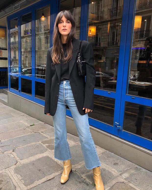 Phụ nữ Pháp chỉ diện boots theo 4 cách sau là đã đẹp và sang trọn vẹn mùa lạnh - Ảnh 3.