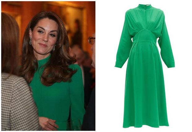 """Diện váy 30 triệu đồng, Công nương Kate """"cân"""" cả Hoàng gia Anh, đọ sắc với Đệ nhất phu nhân Mỹ - Ảnh 5."""