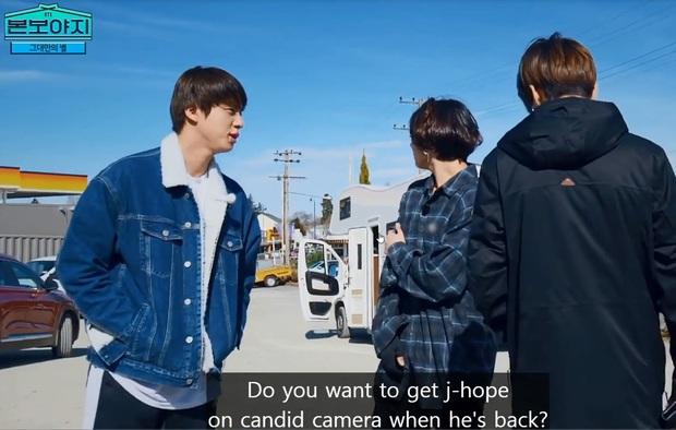 Hóa ra thủ phạm vụ bỏ rơi j-hope ở trạm xăng của BTS chính là... anh cả Jin! - Ảnh 2.