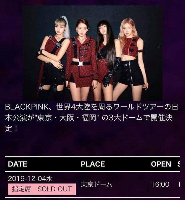 Cứ sợ BLACKPINK ế vé khi mở concert trùng ngày với MAMA 2019, ai ngờ Tokyo Dome kín đặc biển búa hồng - Ảnh 3.