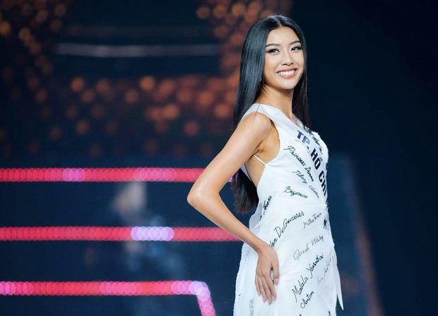Thúy Vân chia sẻ sau sự cố lộ vòng 1 trong đêm thi bán kết Hoa hậu Hoàn vũ Việt Nam 2019 - Ảnh 2.