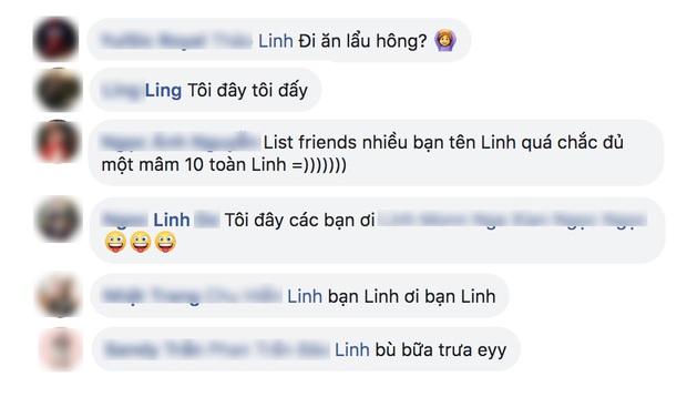 Dân tình đồng loạt chơi lớn mời bạn Linh đi ăn lẩu Thái: ai tên Linh ra đây nhanh này!  - Ảnh 2.