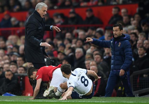 Son Heung-min hoàn toàn vô hại, Tottenham Hotspur đầu hàng trước Man Utd tại Old Trafford - Ảnh 2.