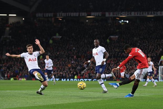 Son Heung-min hoàn toàn vô hại, Tottenham Hotspur đầu hàng trước Man Utd tại Old Trafford - Ảnh 3.