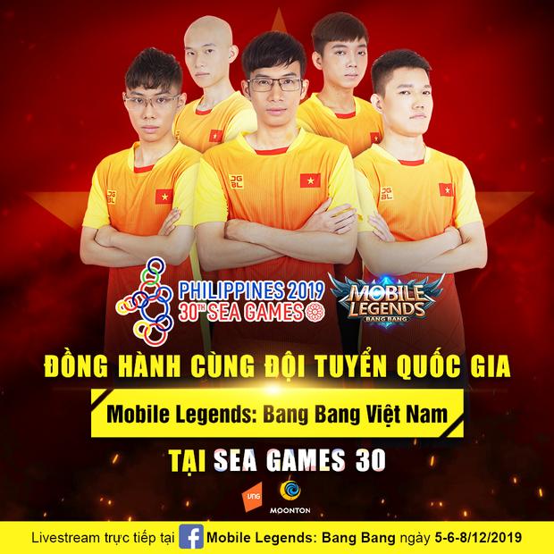 SEA Games 30: Căng thẳng đến phút, chót đội tuyển Mobile Legends: Bang Bang Việt Nam phải đánh tie-break để vào Bán kết - Ảnh 5.