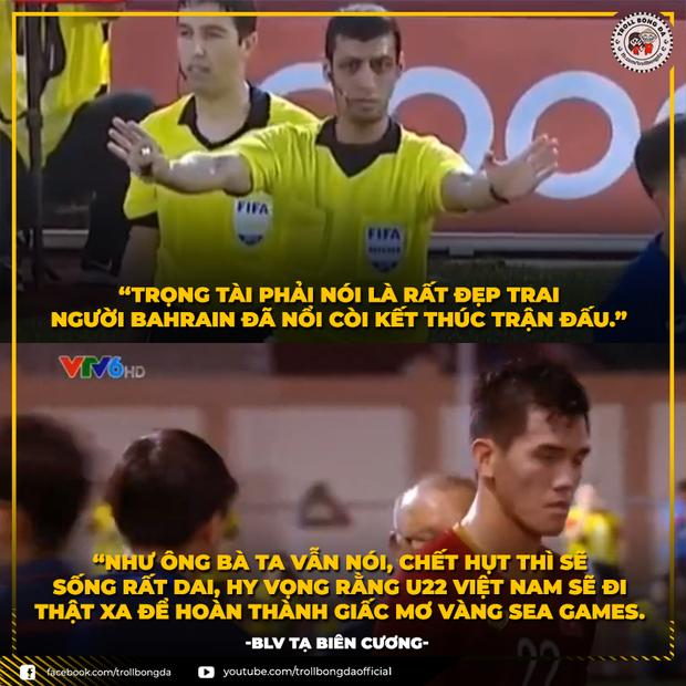 Cười lăn với loạt ảnh chế khi Việt Nam loại Thái Lan: Trọng tài đẹp trai chiếm spotlight, gây cười nhất là list thủ môn làm tăng độ khó cho game - Ảnh 2.