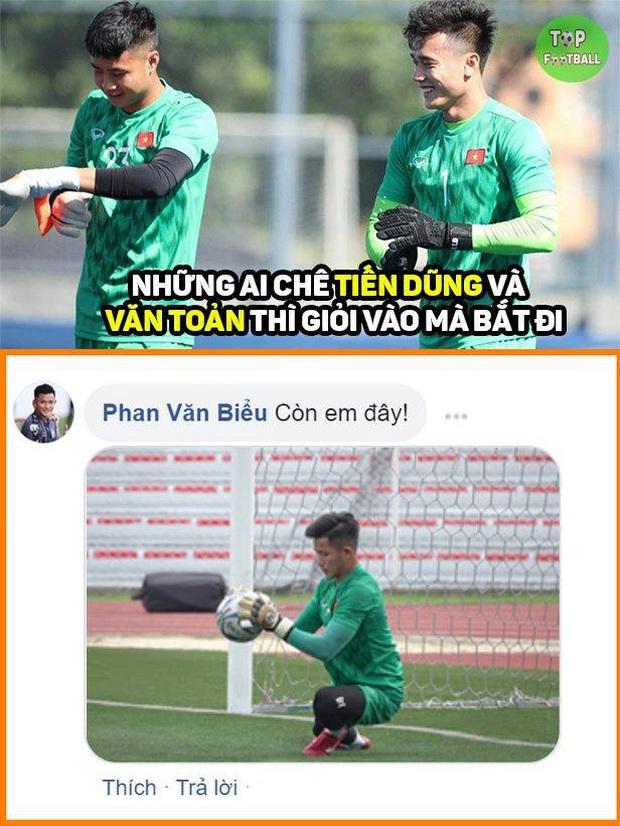 Cười lăn với loạt ảnh chế khi Việt Nam loại Thái Lan: Trọng tài đẹp trai chiếm spotlight, gây cười nhất là list thủ môn làm tăng độ khó cho game - Ảnh 4.