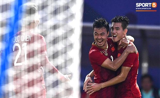 Việt Nam cho Thái Lan thành cựu vương sau trận hòa 2-2, tiến thẳng vào bán kết SEA Games gặp đối thủ Campuchia - Ảnh 3.
