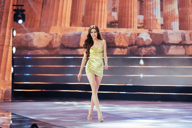 Vượt qua cả quán quân Vietnams Next Top Model, Khánh Vân xuất sắc đoạt giải social Best catwalk Hoa hậu Hoàn vũ 2019 - Ảnh 3.