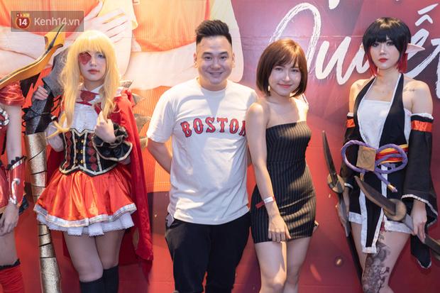 Uyên Pu, Xemesis rạng rỡ xuất hiện tại buổi offline cổ vũ tuyển Mobile Legends: Bang Bang ra quân tại SEA Games - Ảnh 2.