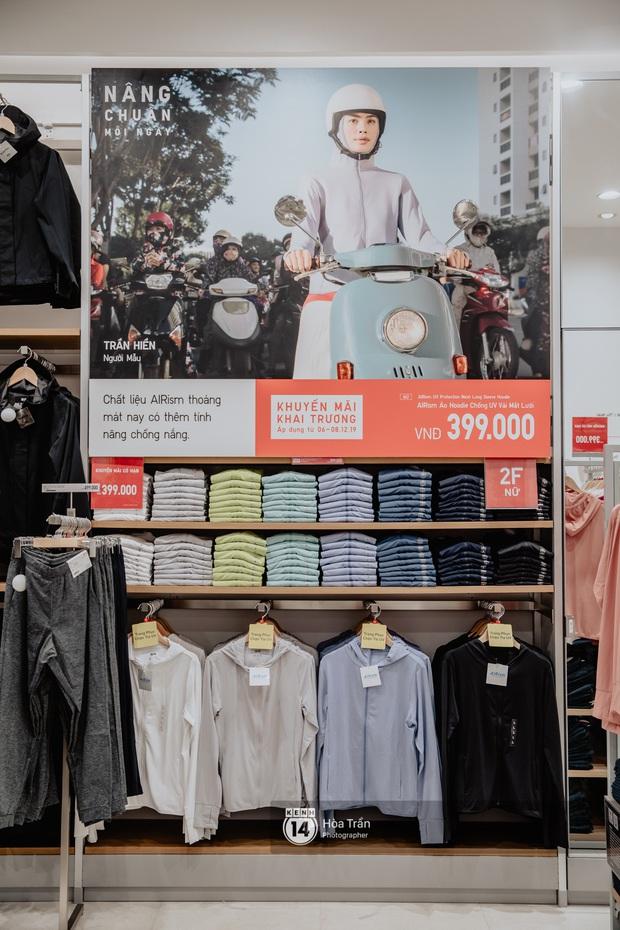 5 items UNIQLO giảm giá kịch đáng sắm nhất dịp khai trương: Sơ mi dạ 399k, áo chống nắng phá giá 399k, áo phao rẻ ngang mua tại Nhật - Ảnh 5.