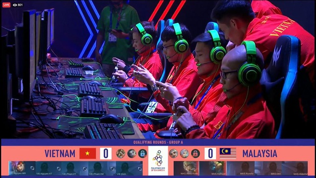 SEA Games 30: Căng thẳng đến phút, chót đội tuyển Mobile Legends: Bang Bang Việt Nam phải đánh tie-break để vào Bán kết - Ảnh 1.