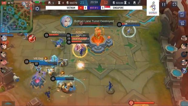 SEA Games 30: Căng thẳng đến phút, chót đội tuyển Mobile Legends: Bang Bang Việt Nam phải đánh tie-break để vào Bán kết - Ảnh 4.