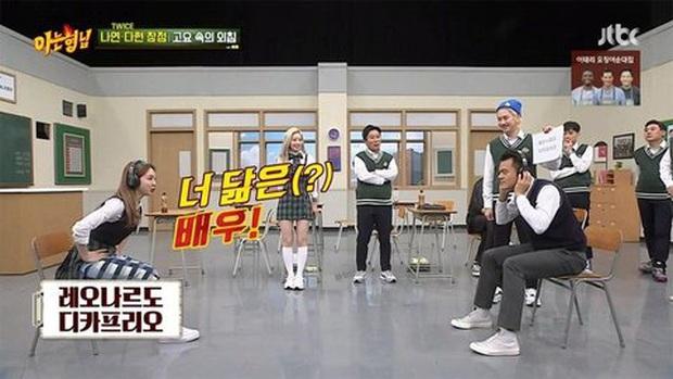 Bất ngờ chưa? Nayeon (TWICE) gợi ý về nam diễn viên giống JYP và câu trả lời là... Leonardo Dicaprio - Ảnh 2.