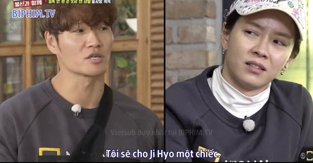 Fan SpartAce được dịp chèo thuyền khi Jong Kook ra mặt bảo vệ Ji Hyo khỏi hình phạt - Ảnh 3.