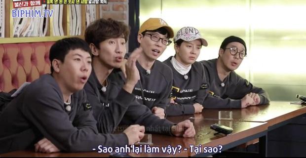 Fan SpartAce được dịp chèo thuyền khi Jong Kook ra mặt bảo vệ Ji Hyo khỏi hình phạt - Ảnh 4.
