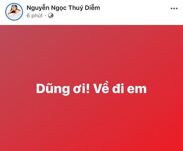 Ngọc Lan, Ngô Kiến Huy và loạt sao Vbiz dành lời động viên U22 Việt nam trước bàn thua trong hiệp 1, vỡ oà trước chiến thắng gỡ hoà với Thái Lan - Ảnh 3.