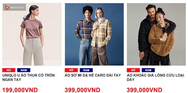 5 items UNIQLO giảm giá kịch đáng sắm nhất dịp khai trương: Sơ mi dạ 399k, áo chống nắng phá giá 399k, áo phao rẻ ngang mua tại Nhật - Ảnh 2.