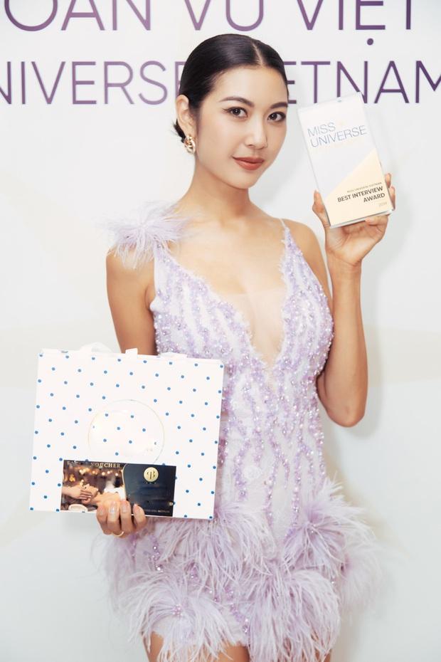 Lại thắng thêm giải thưởng phụ trước giờ G, vương miện Hoa hậu Hoàn vũ đang ở rất gần tầm tay của Thúy Vân! - Ảnh 1.