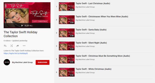 Chả mấy khi Taylor Swift ra nhạc Giáng Sinh, Big Machine lập tức có hành động dội gáo nước lạnh nối dài drama - Ảnh 3.