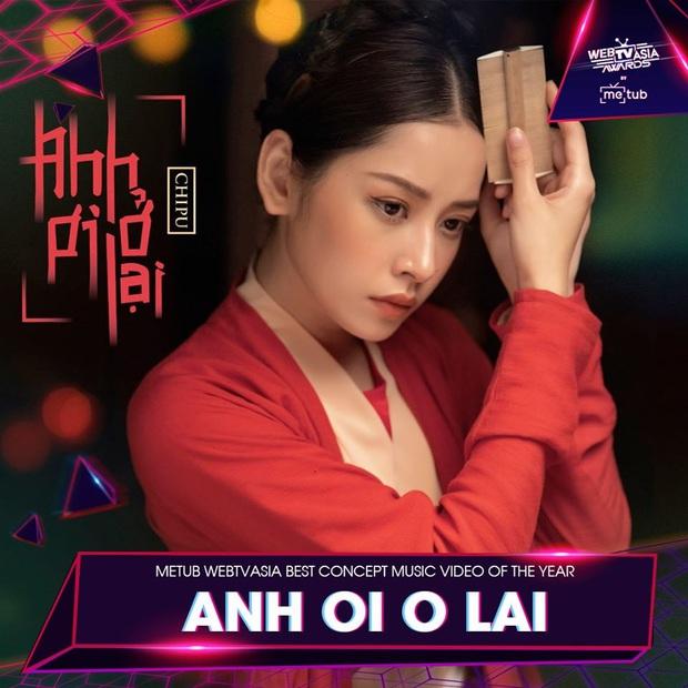 Hương Ly chia giải với Vũ Khắc Tiệp, loạt sao Hoàng Thùy Linh, Bích Phương, Min, Chi Pu vui vẻ cả làng tại WebTVAsia Awards 2019 - Ảnh 4.