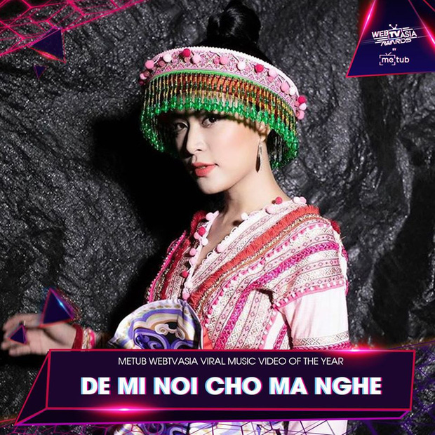 Hương Ly chia giải với Vũ Khắc Tiệp, loạt sao Hoàng Thùy Linh, Bích Phương, Min, Chi Pu vui vẻ cả làng tại WebTVAsia Awards 2019 - Ảnh 7.