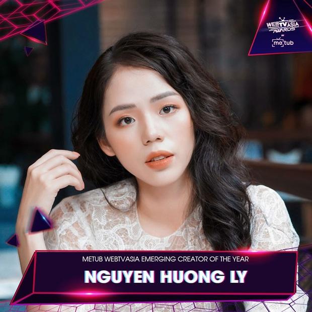 Hương Ly chia giải với Vũ Khắc Tiệp, loạt sao Hoàng Thùy Linh, Bích Phương, Min, Chi Pu vui vẻ cả làng tại WebTVAsia Awards 2019 - Ảnh 10.