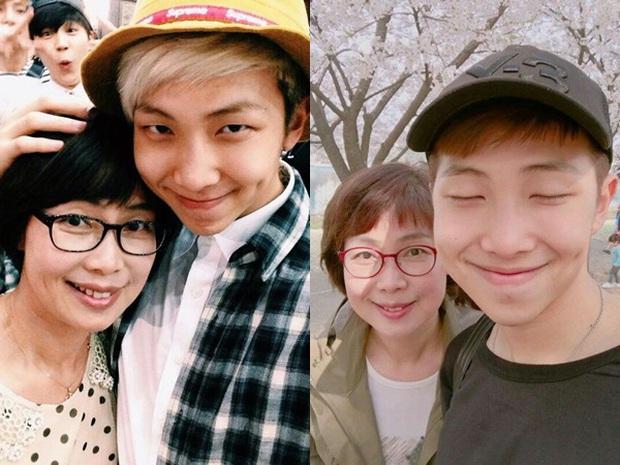 Choáng với bố mẹ của ông hoàng toàn cầu BTS: Ai cũng đẹp xuất sắc, mẹ Jin đi thi Hoa hậu, bố là CEO - Ảnh 19.
