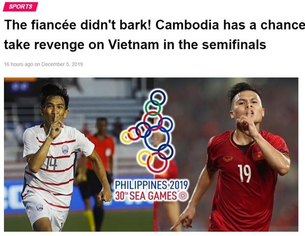 Báo Campuchia gáy mạnh: Cơ hội trả thù bóng đá Việt Nam đã đến! - Ảnh 1.