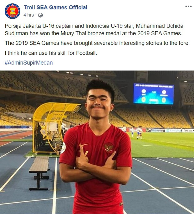 Cầu thủ Indonesia giành HCĐ võ Muay Thai SEA Games 30 rồi bày tỏ mong muốn trở lại bóng đá, fan kêu gọi anh chàng tôn trọng hàm răng của đồng nghiệp - Ảnh 3.